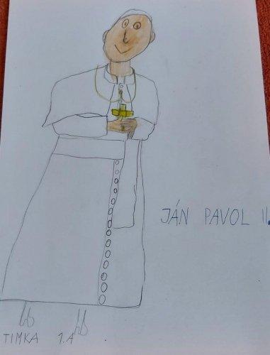 Timka Barčáková, 1. A - Ján Pavol II.